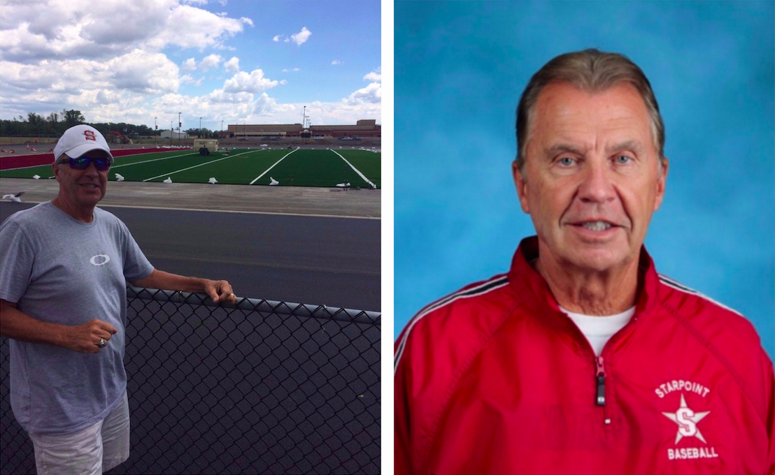 As awards pile up, Starpoint director of athletics Tom Sarkovics keeps his focus on the kids. (Photos provided by Starpoint CSD)