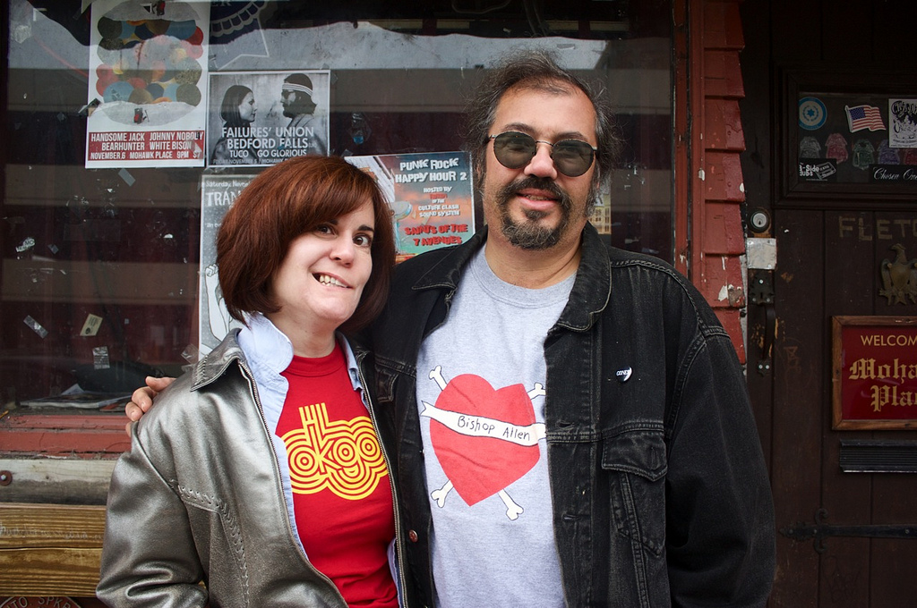 "Susan Tanner and Marty Boratin, the ""First Couple"" of the Buffalo music scene."