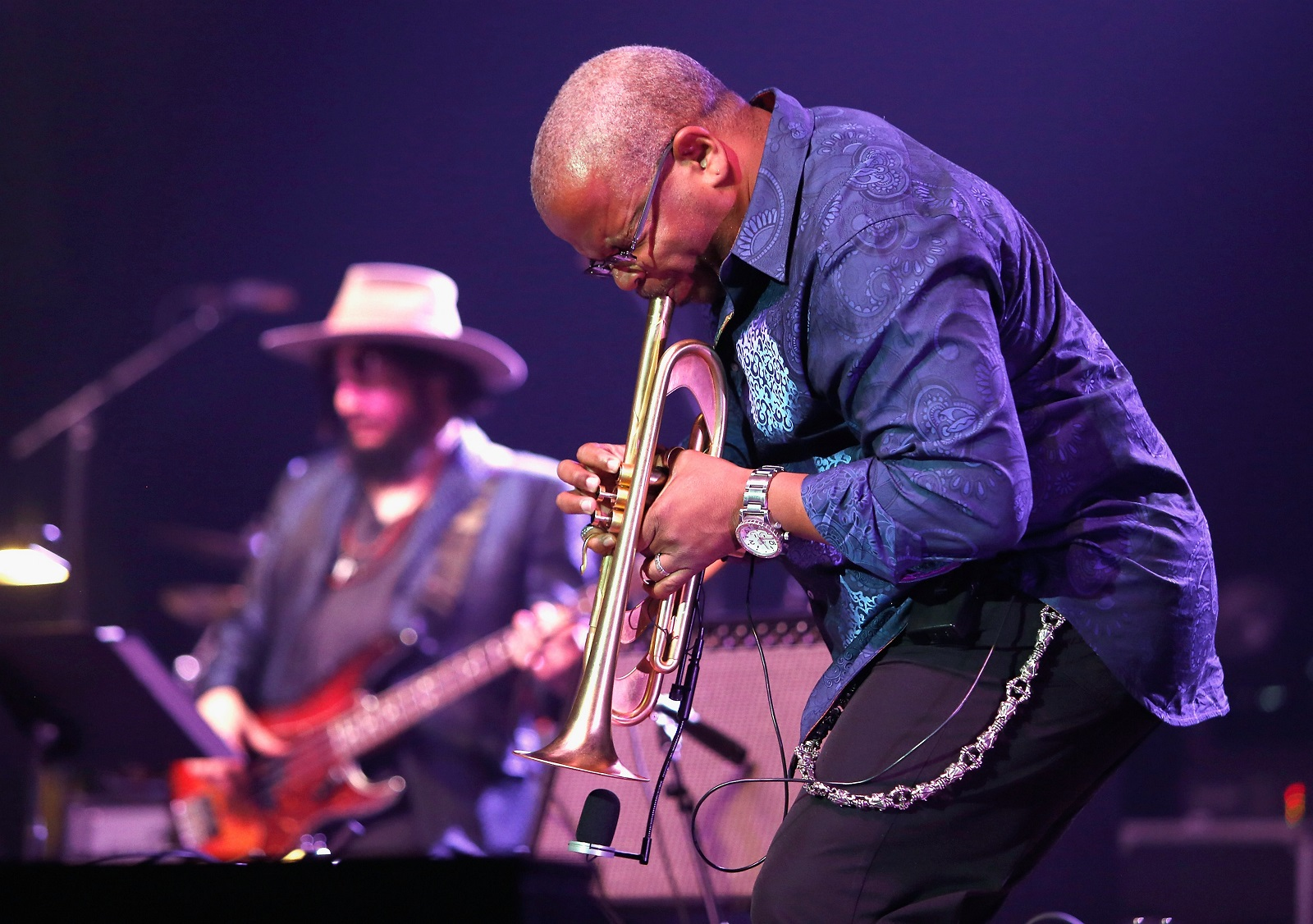 Terence Blanchard performs in 2014 in New Orleans.  (Skip Bolen/Getty Images)