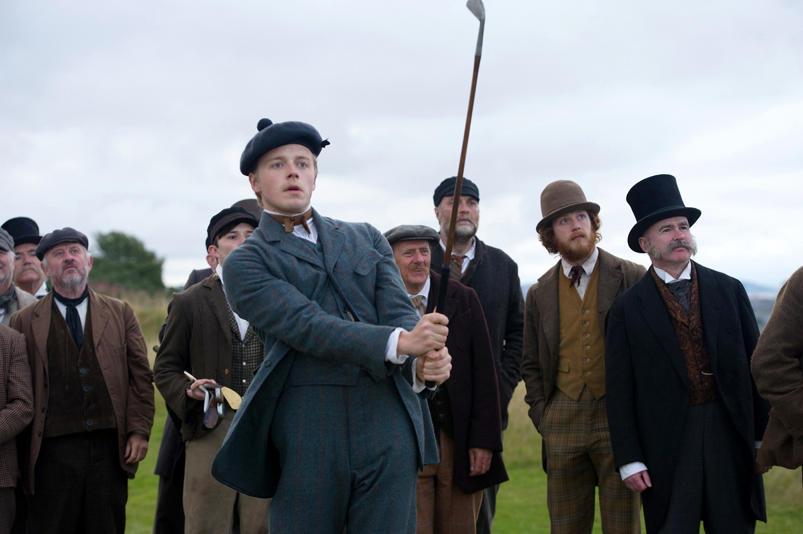 "Jack Lowden as Young Tom Morris in ""Tommy's Honour."" (Neil Davidson, Roadside Attractions)"