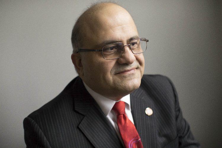 Trocaire College President Bassam M. Deeb. (Derek Gee/Buffalo News)
