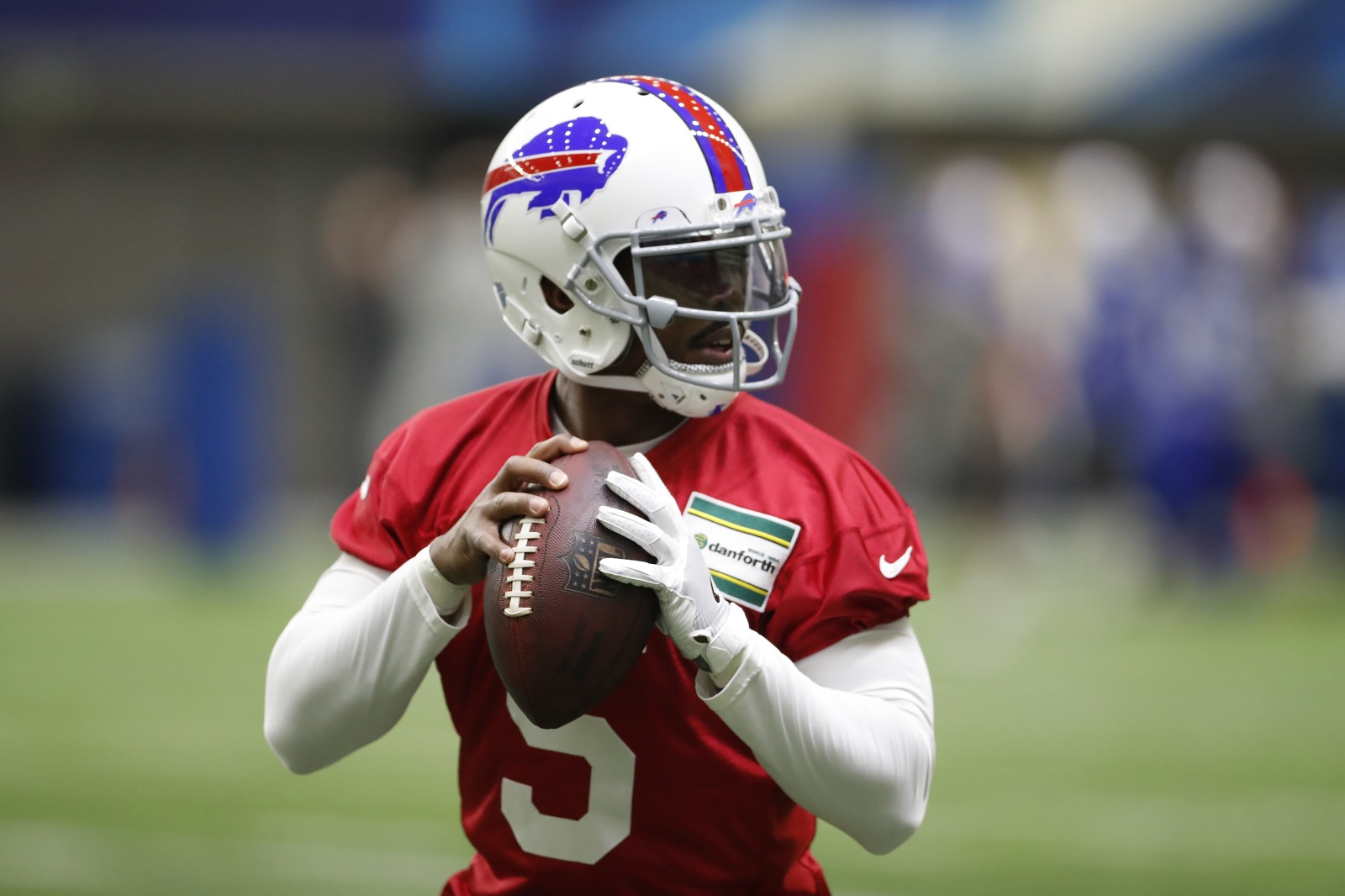 Tyrod Taylor and the Buffalo Bills will not spend much time in the national spotlight in 2017. (Harry Scull Jr./Buffalo News)
