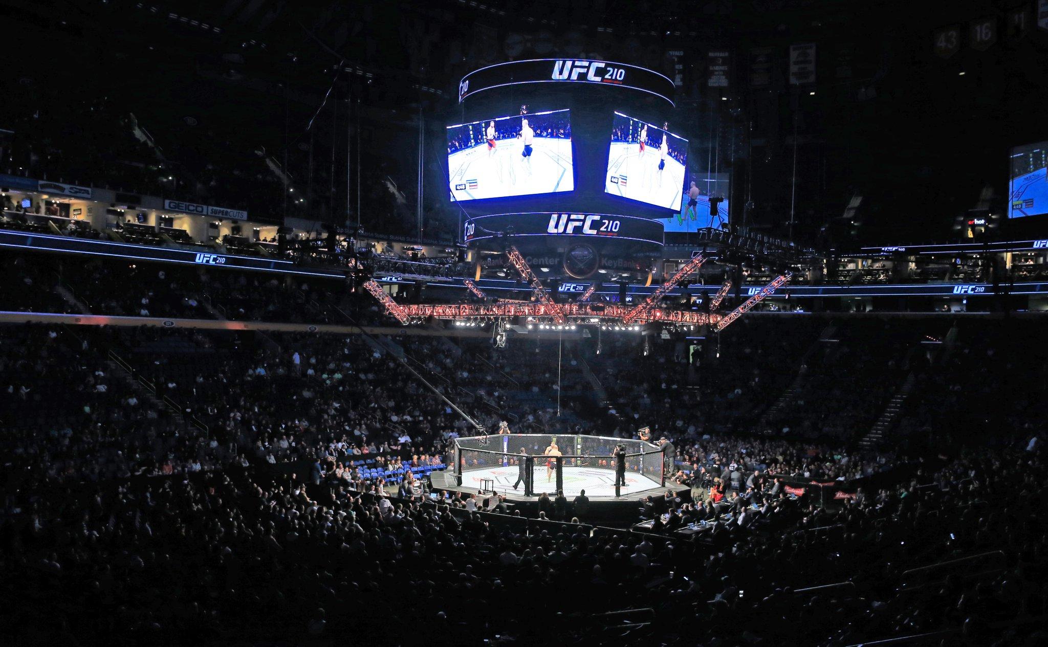 UFC210 at KeyBank Center. (Harry Scull Jr./Buffalo News)