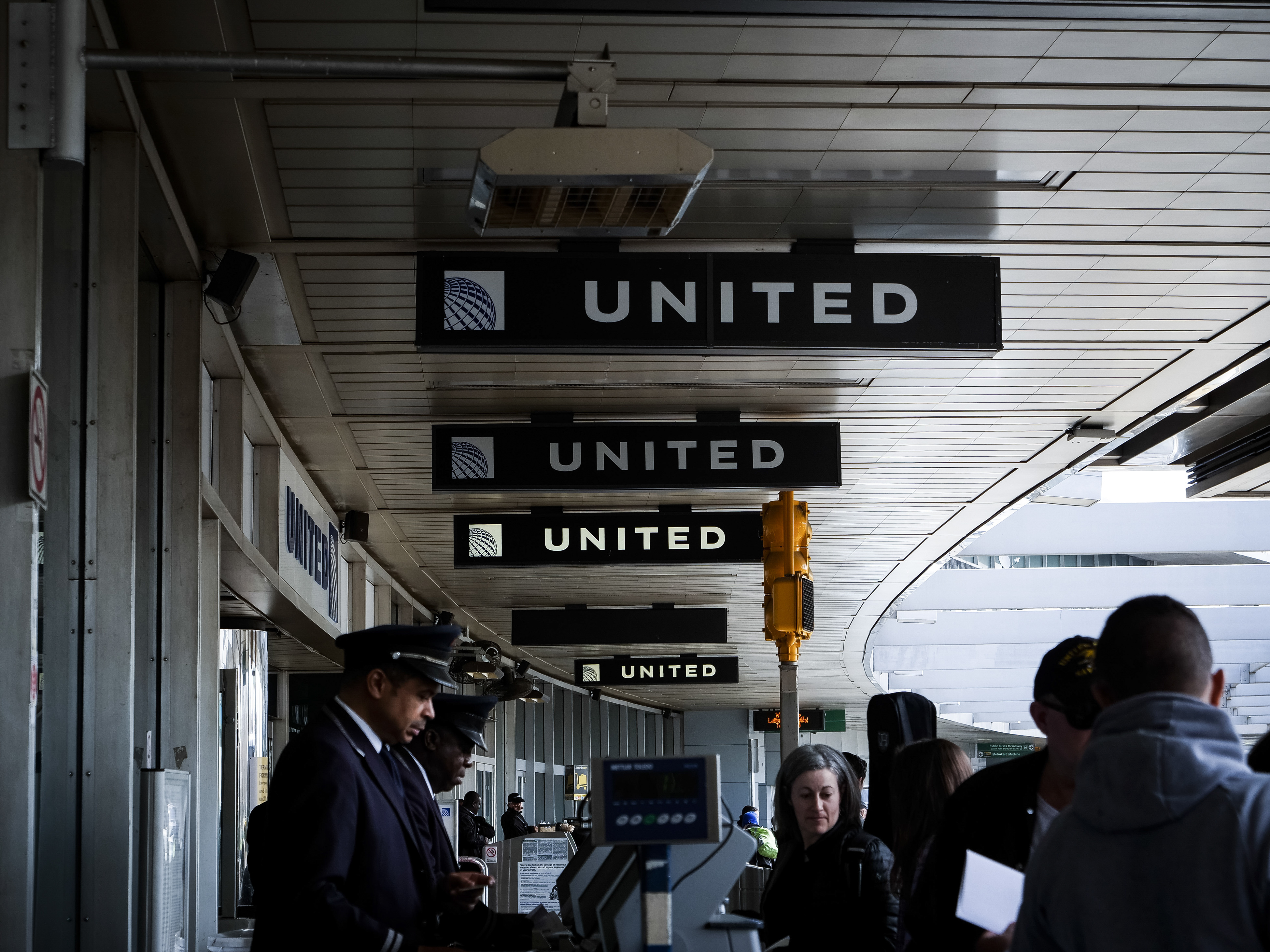 Less than three weeks after a passenger was dragged off a United Airlines flight at the Chicago airport, the carrier found itself facing another public relations fiasco on April 26 after a three-foot-long rabbit died on a flight from Britain. (John Taggart/The New York Times)