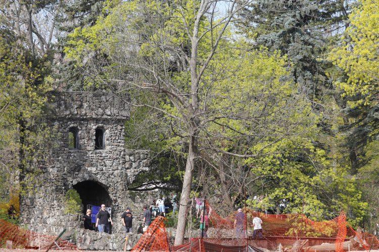 Estate sale offers rare peek at hidden Williamsville castle
