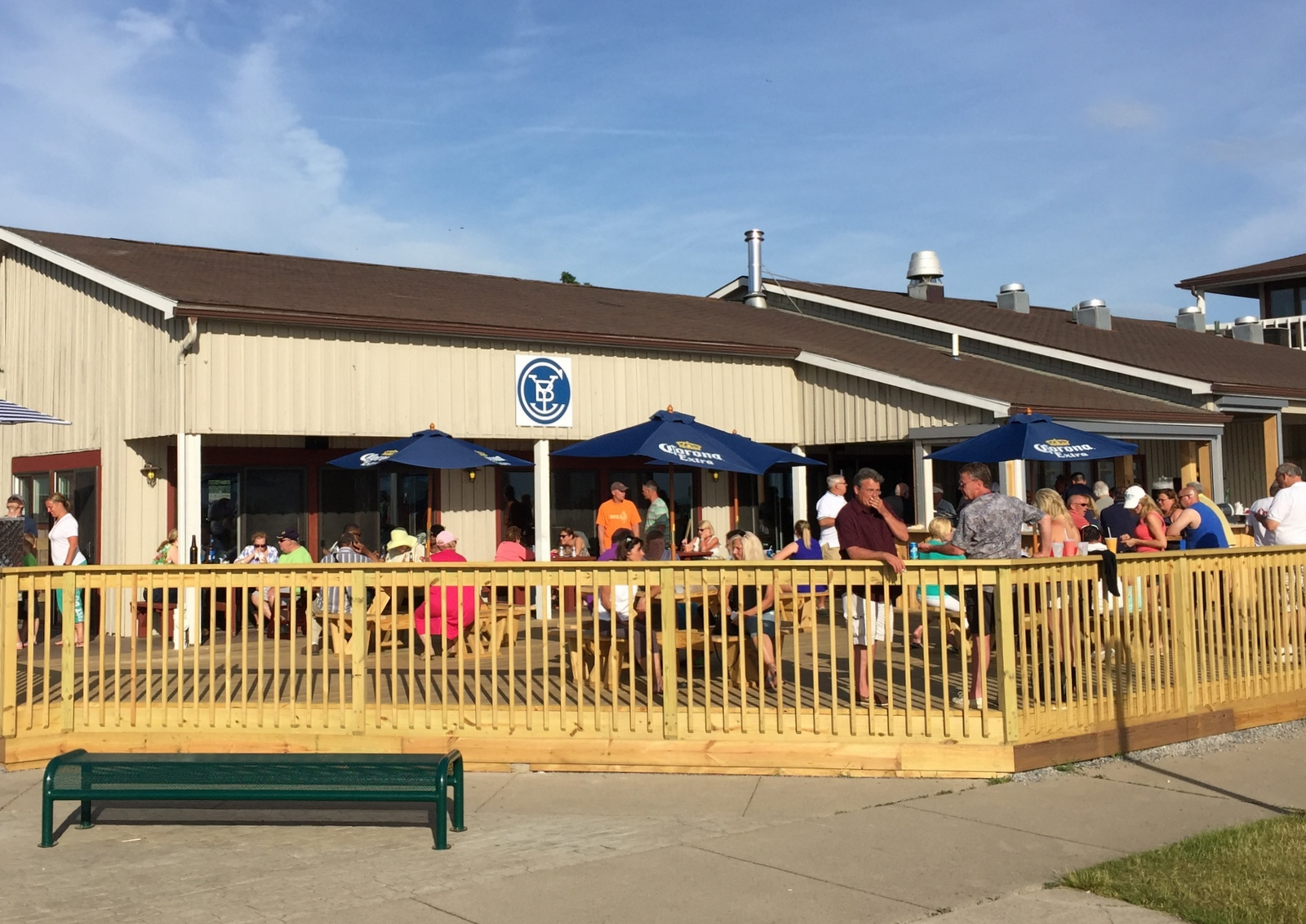 Charlie's Boat Yard, pictured here in May 2016, has expanded its dining seating capacity before its 2017 opening. (Andrew Galarneau/Buffalo News)