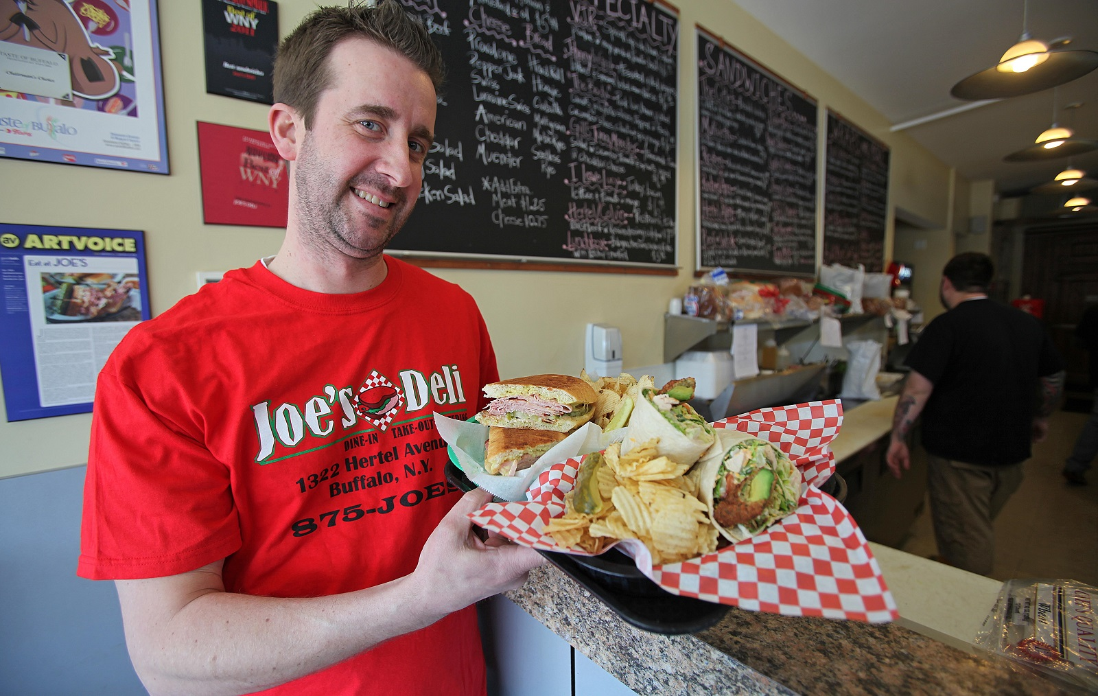 Joe's Deli owner Joseph Lyons will open a new location in the Northtowns. (Robert Kirkham/Buffalo News file photo)