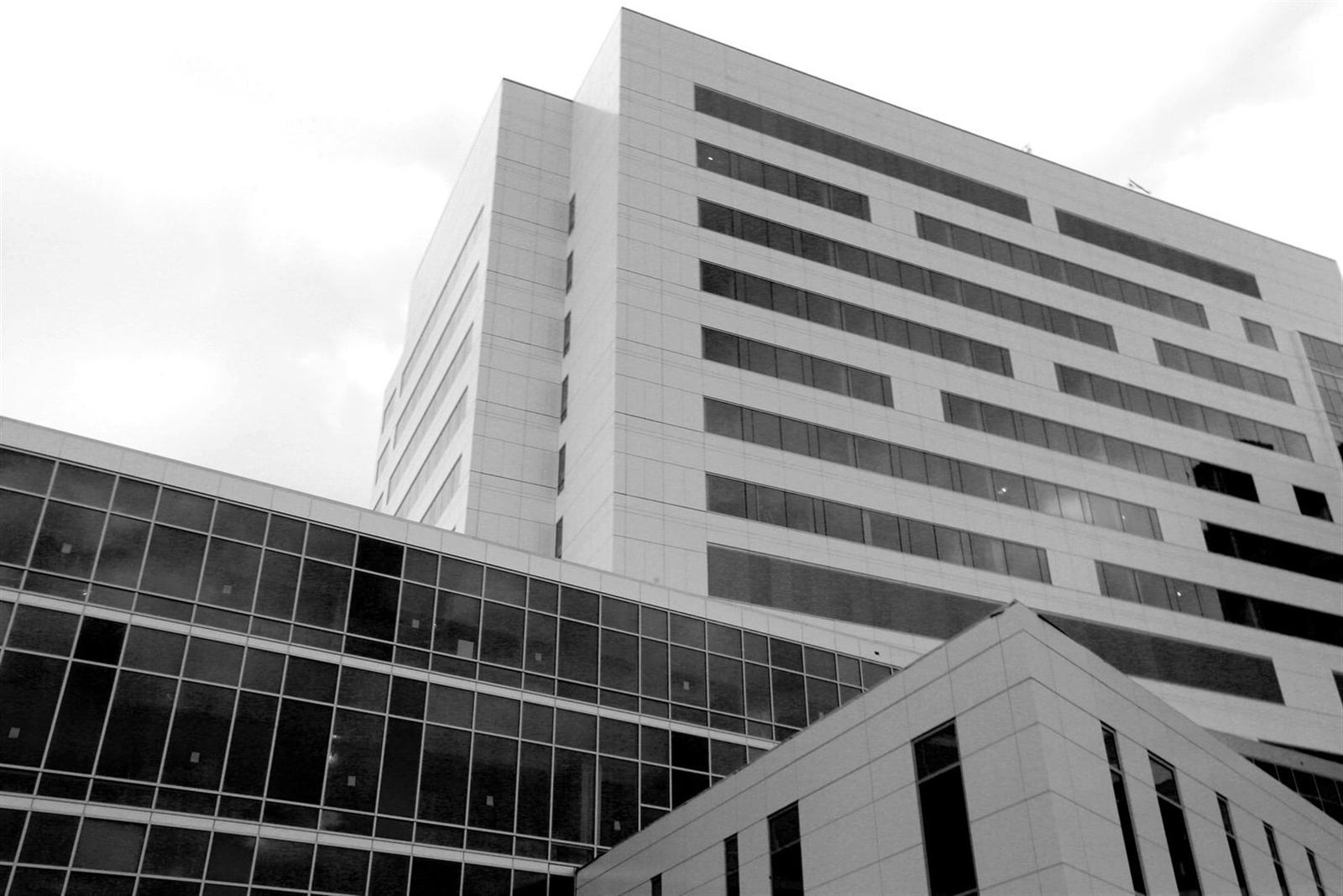 An exterior detail of the new John R. Oishei Children's Hospital. (File Photo/Robert Kirkham/Buffalo News)