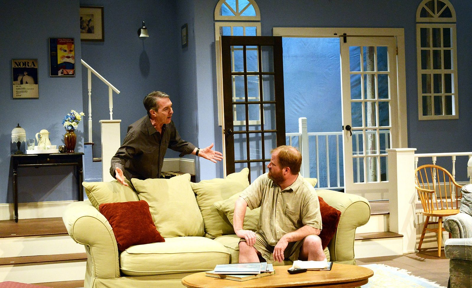 """A scene from the Road Less Traveled Production of """"The Country House"""" by Donald Margulies."""