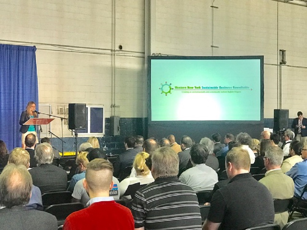 The WNY Sustainable Business Roundtable drew more than 300 people this week.
