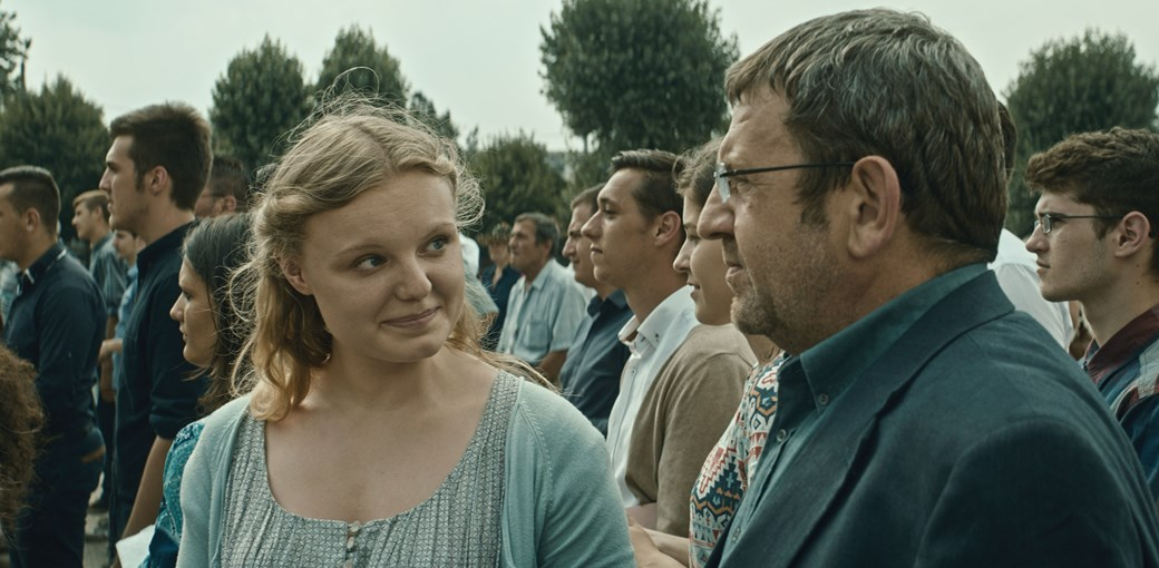 The relationship between a father and daughter is at the heart of the film 'Graduation.'