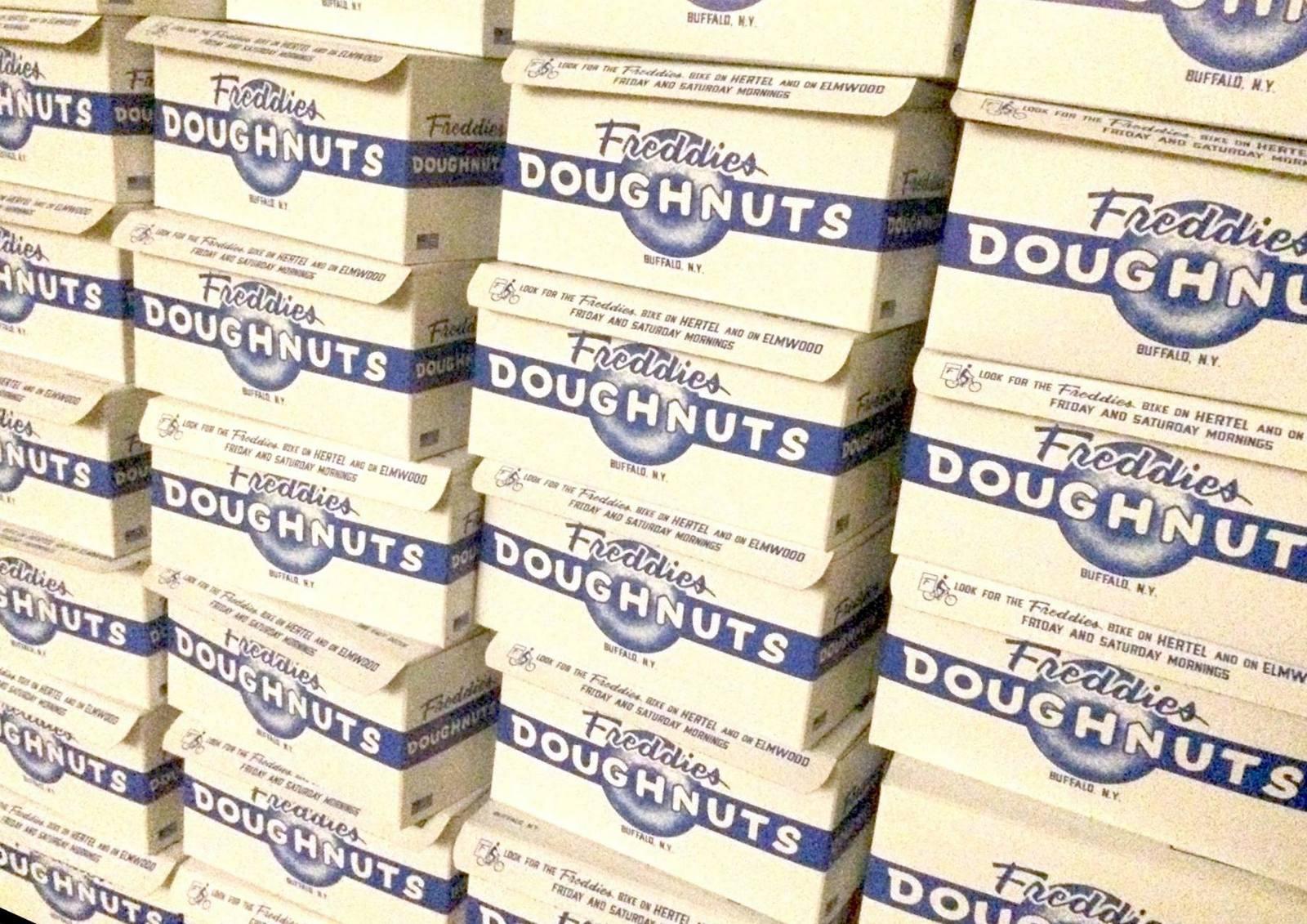 Fred Frandina is bringing back Freddies Doughnuts, a half-dozen at a time. (Freddies Doughnuts)
