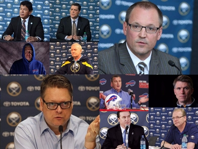 The coaches, GMs and presidents fired by the Pegulas