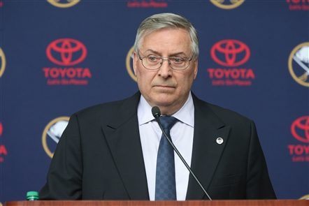 Terry Pegula's Sabres press conference