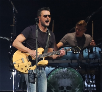 Eric Church entertains in KeyBank Center