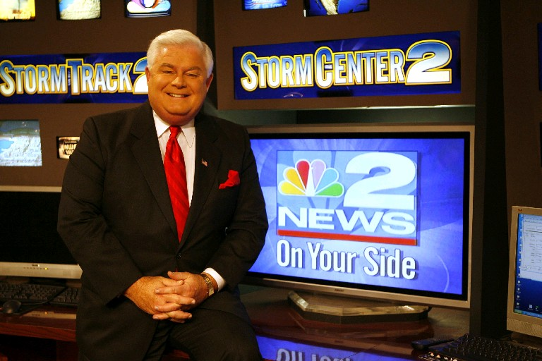 WGRZ-TV weatherman Kevin O'Connell ends talk of county clerk bid after Republicans raise 'equal time' objections. (Sharon Cantillon/News file photo)