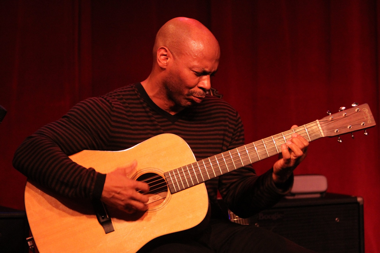 Kevin Eubanks in 2011 performing at Birdland Jazz Club in New York City. (Photo by Cory Schwartz/Getty Images)