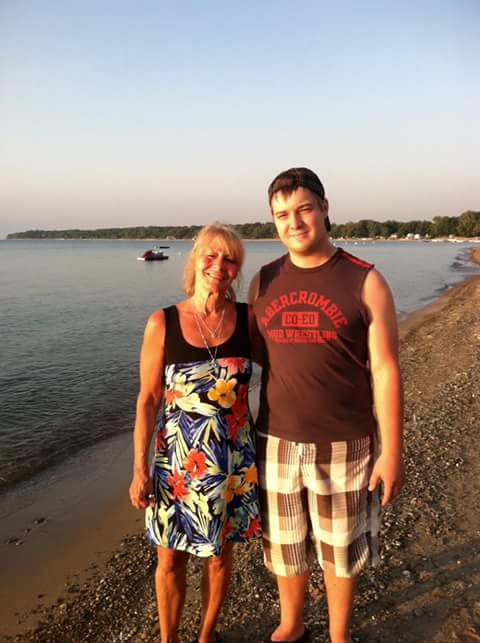 Marilyn Gentile, left, with her son Bobby Nunzio Giovino, who died in 2016 from a fentanyl overdose the summer before he died in Angola. (Provided by Marilyn Gentile)