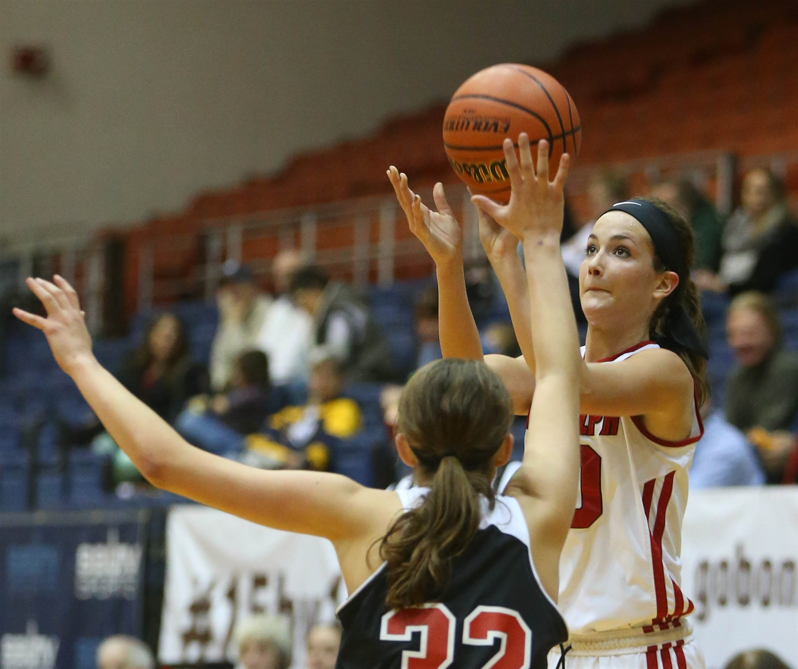 Randolph's Mckenna Maycock is Western New York's all-time scoring leader for basketball. (Mark Mulville/Buffalo News)