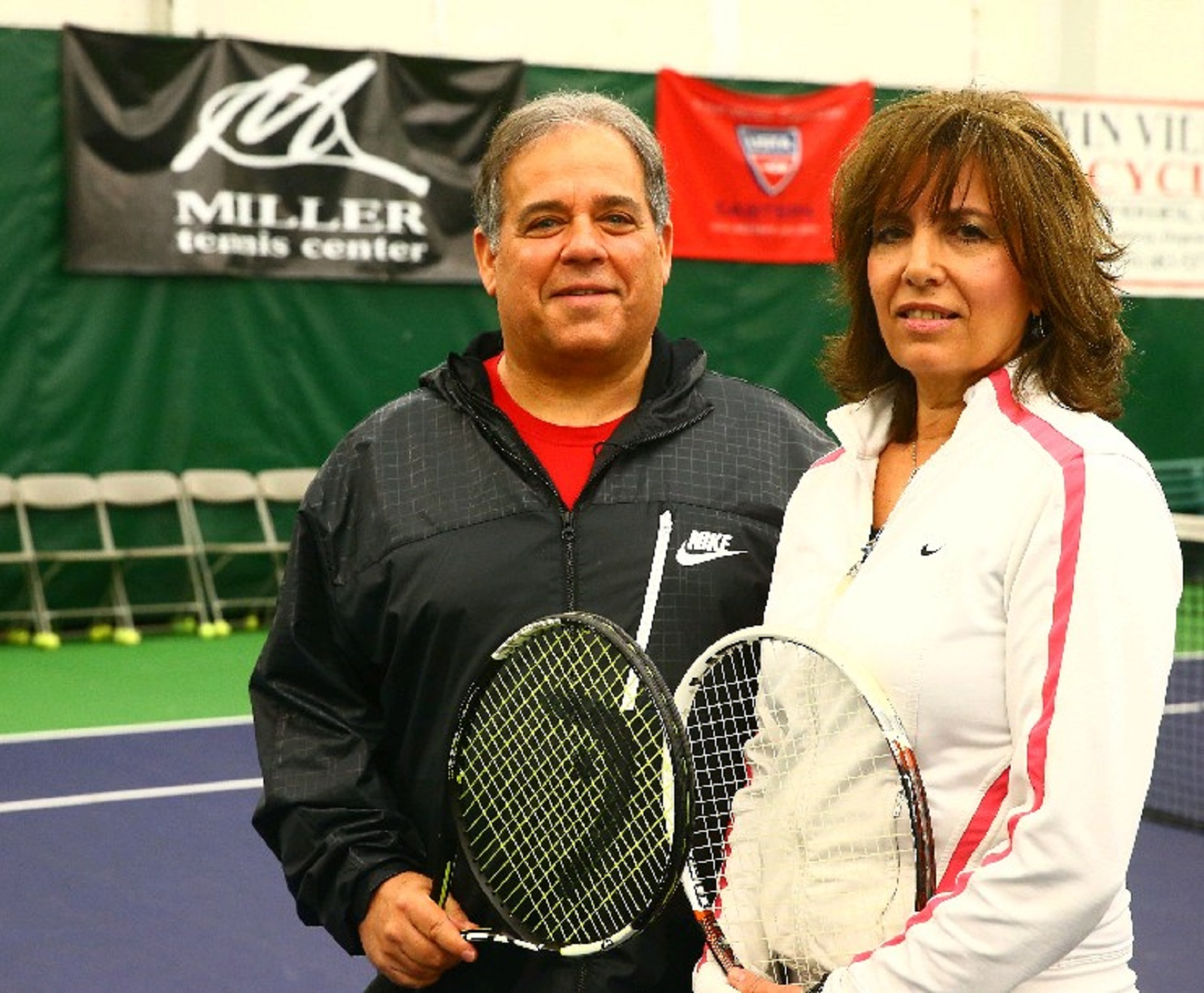 Todd and Debbie Miller bought Amherst Hills Tennis Center a decade ago, renamed it and continue to update its programs and professional coaching staff. (John Hickey/Buffalo News)