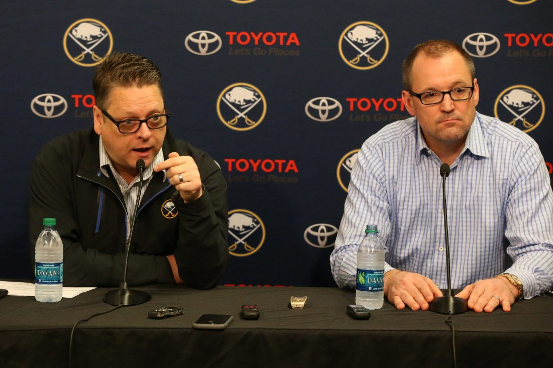 Sabres clean house with firings of GM Tim Murray, coach Dan Bylsma
