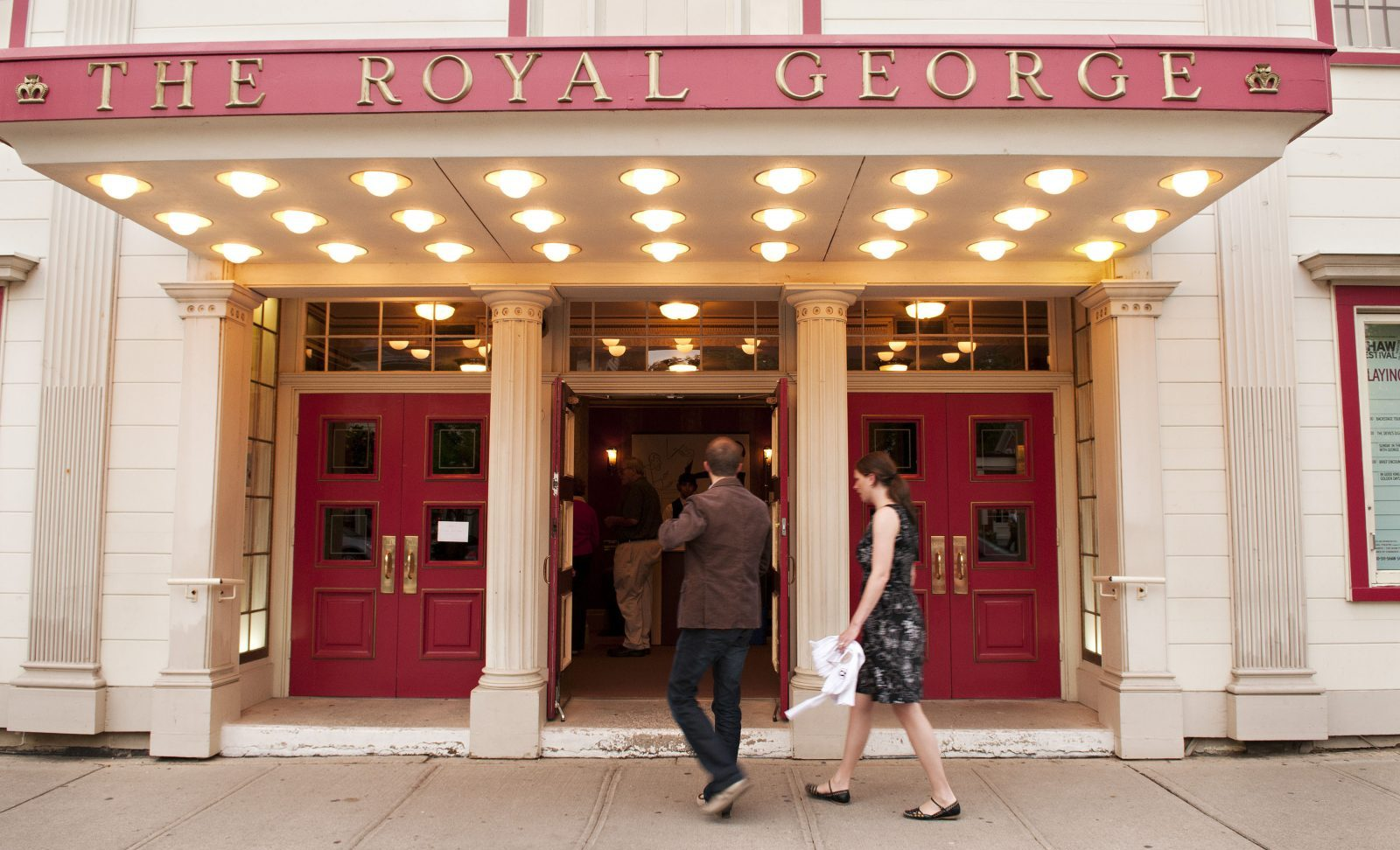 The Royal George Theatre is home to several Shaw Festival plays.