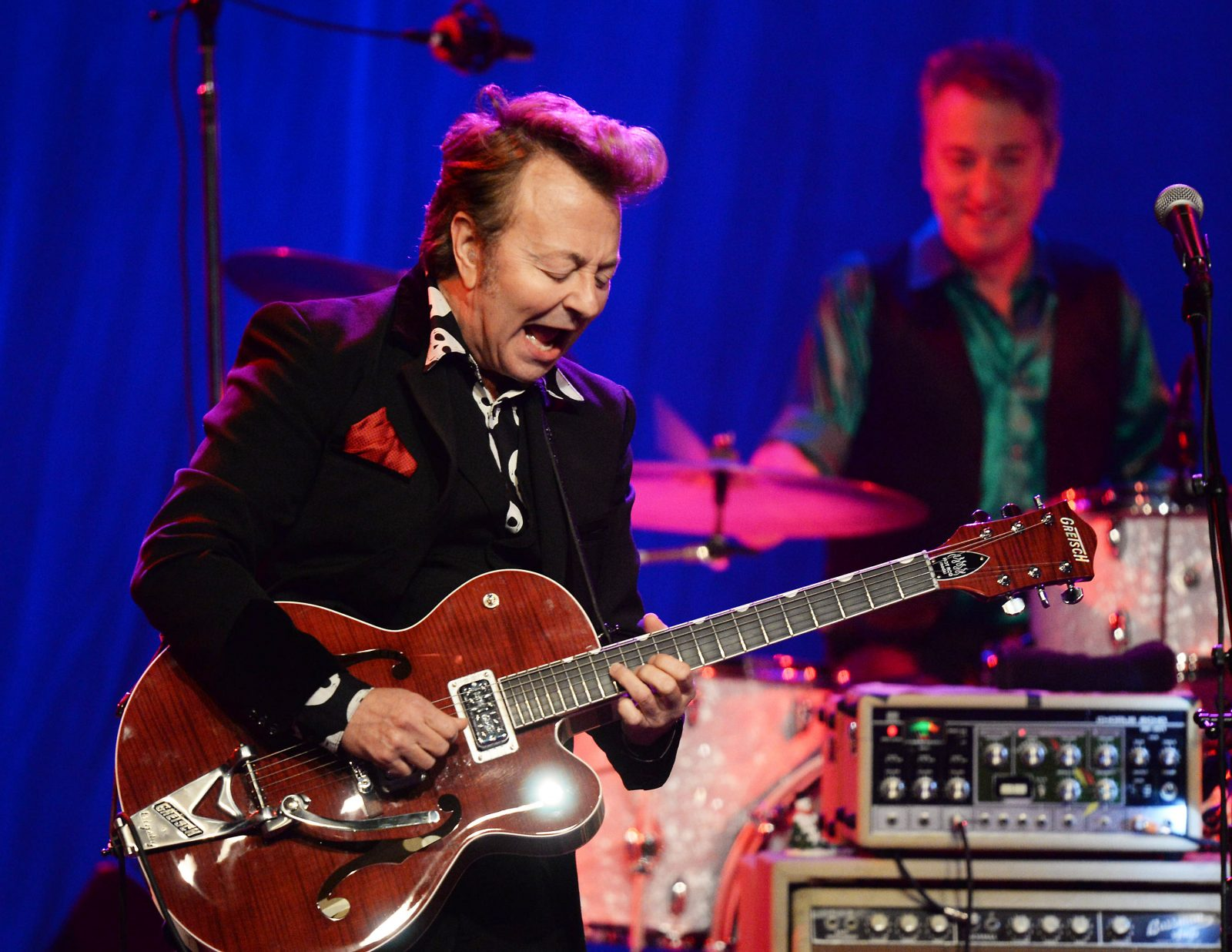 Brian Setzer brings his Rockabilly Riot to Artpark. (Getty Images)