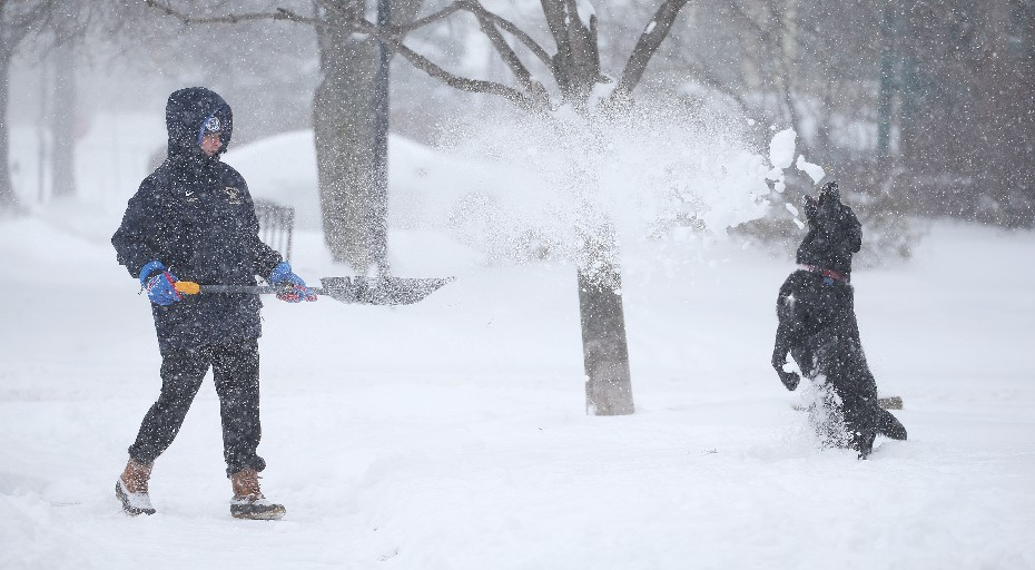 There's been hardly any snow to speak of so far this season. But, it won't be long, forecasters and weather models say (Sharon Cantillon/Buffalo News file photo)