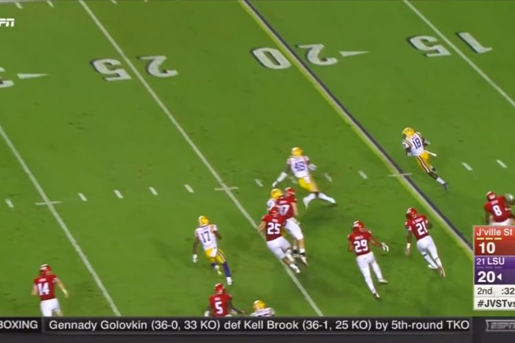 Watch the Bills' No. 1 pick show his stuff on this scintillating punt return