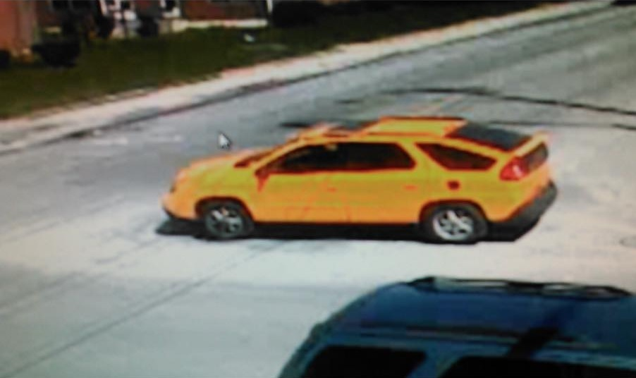 Police are investigating whether this is the vehicle used by two men who approached a 15-year-old girl near South Park Avenue and Louisiana Street. (Buffalo Police)