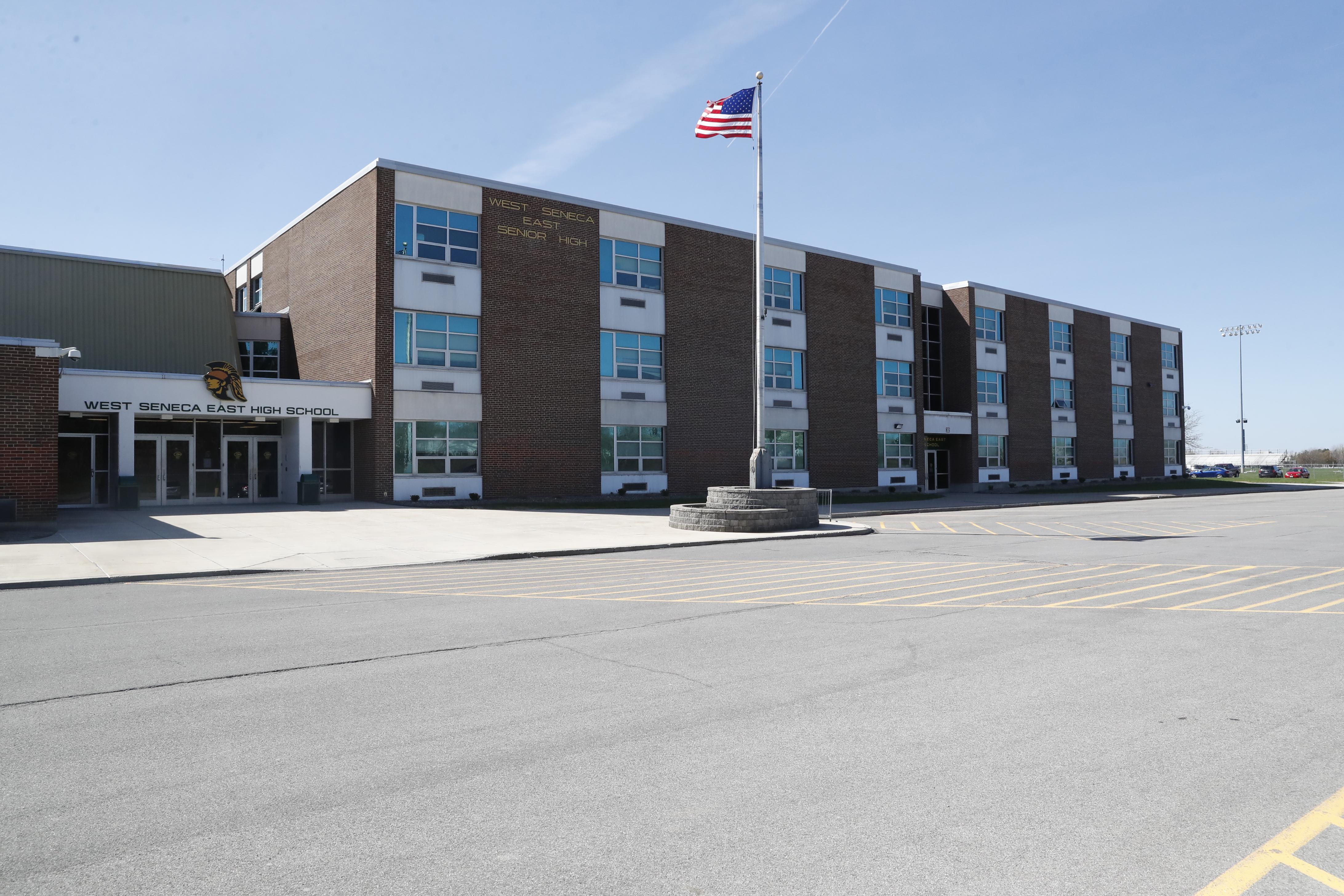 West Seneca East High School on Tuesday, April 18, 2017. (Harry Scull Jr./Buffalo News)
