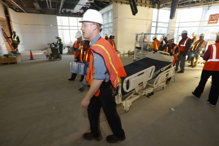 How do you move a children's hospital? With plenty of practice.