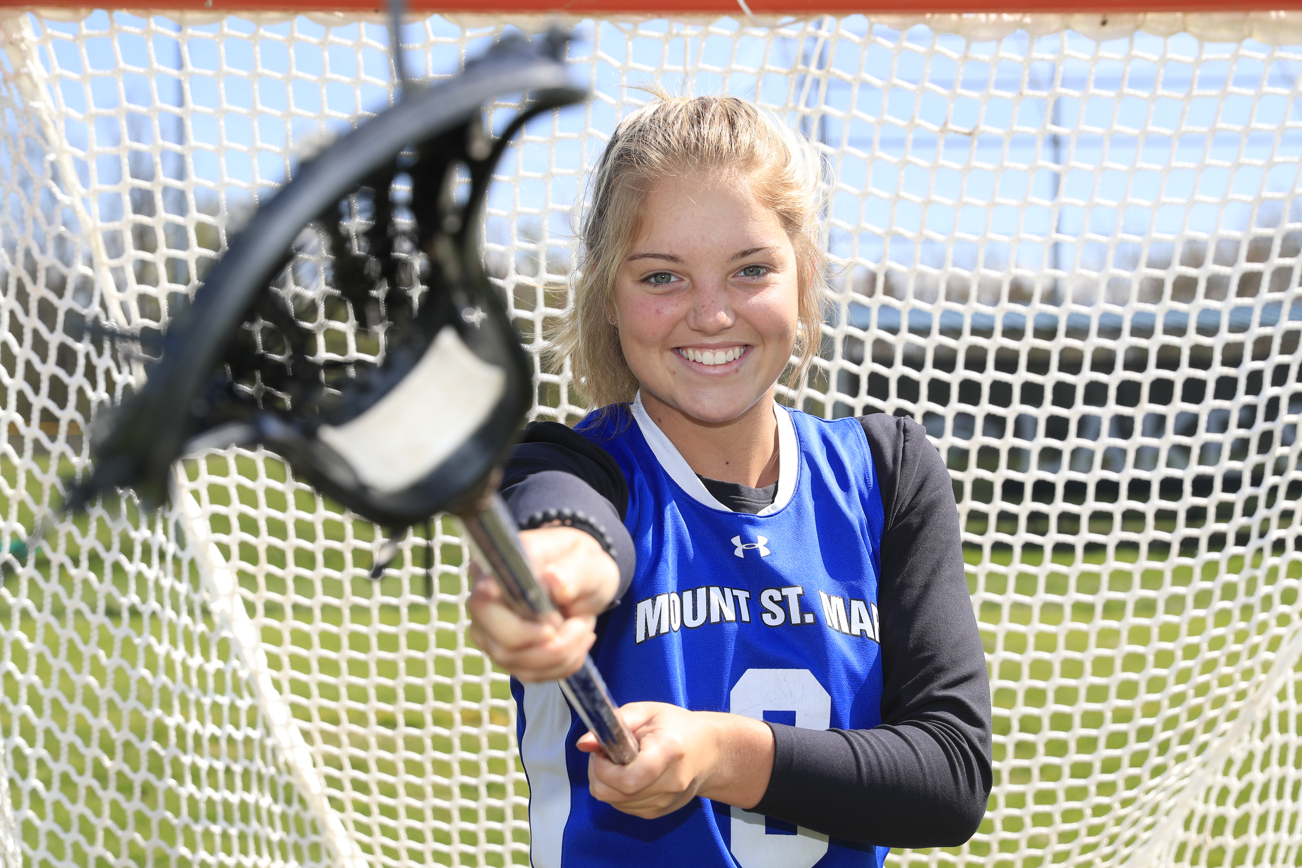The Prep Talk Female Athlete of the Week is Molly Meegan of Mount St. Mary. (Harry Scull Jr./Buffalo News)