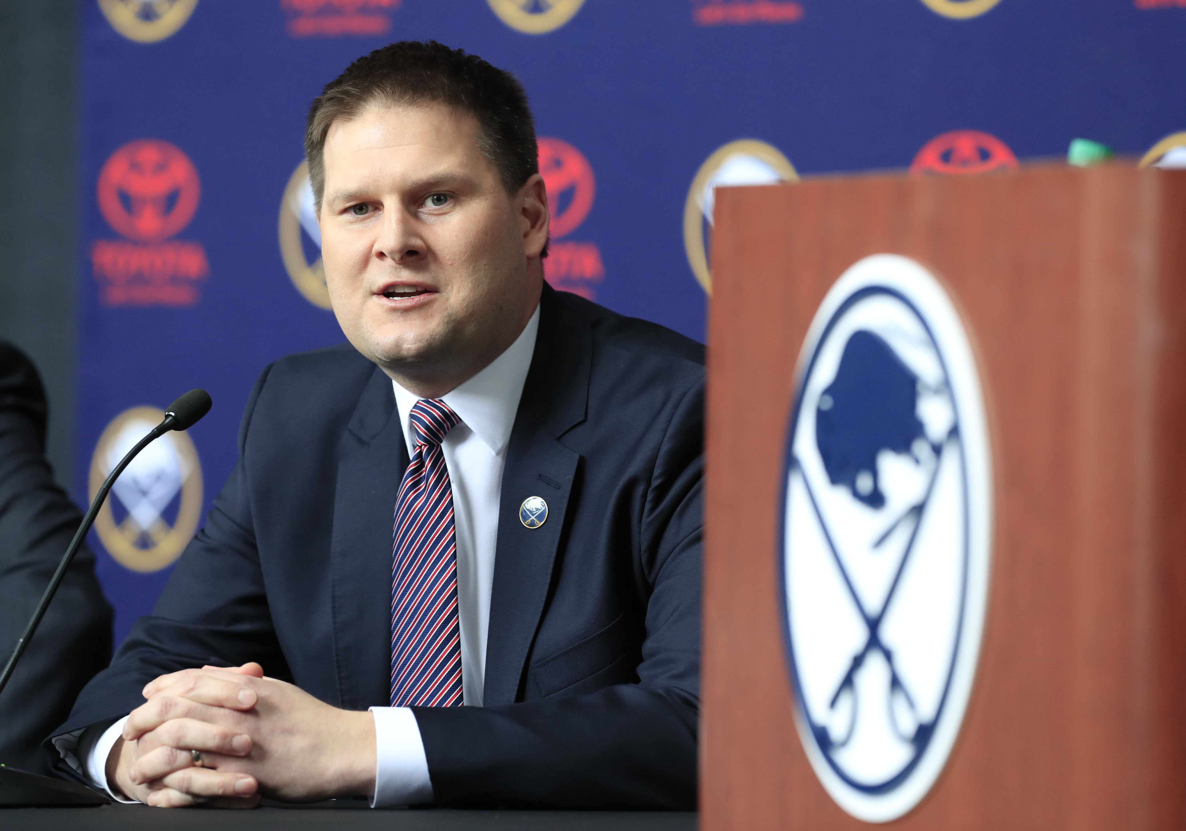 Jason Botterill  and his wife have purchased a home on Middlesex Road for $1.31 million.  (Harry Scull Jr./Buffalo News)