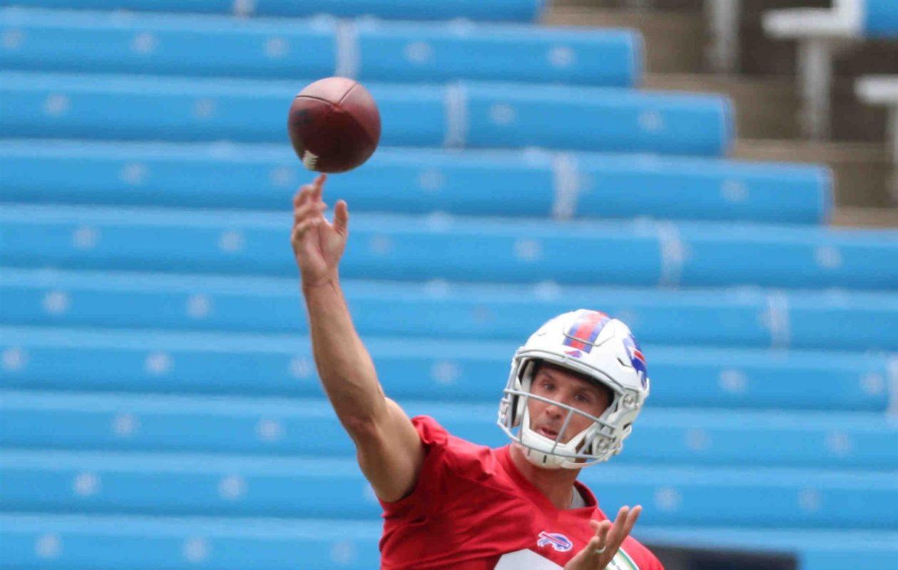 Bills fifth-round draft pick Nathan Peterman. (James P. McCoy/Buffalo News)