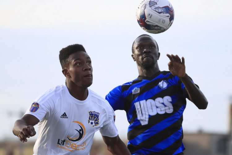 FC Buffalo rue missed chances, unlucky penalty in opening loss to Dayton
