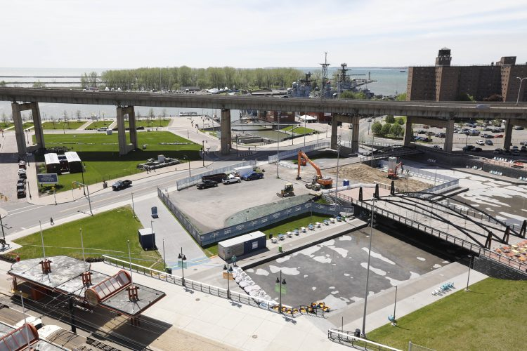 Say goodbye to green space at Canalside