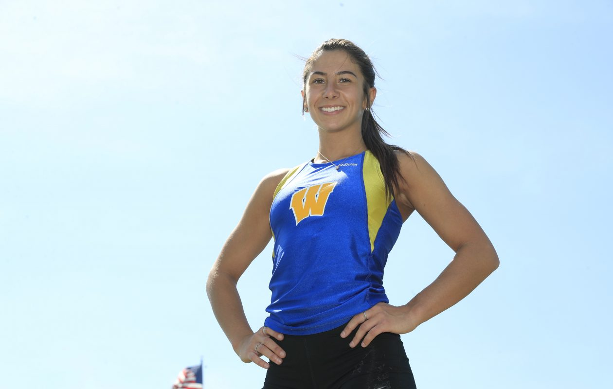 Prep Talk Female Athlete of the Week: Emily Marchitte, West Seneca West track & field. (Harry Scull Jr./Buffalo News)