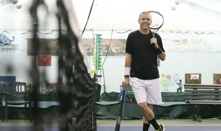 Racket sports: Joe Vizzi making his mark on the tennis court
