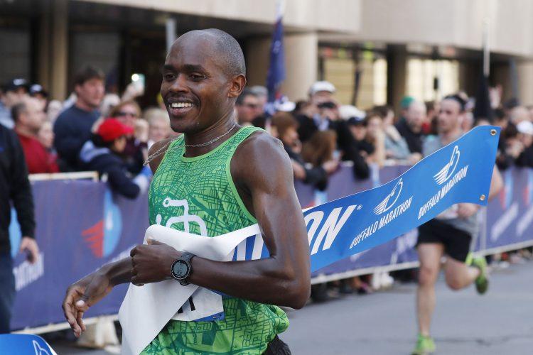 Kenya native becomes Buffalo marathon's first three-time winner