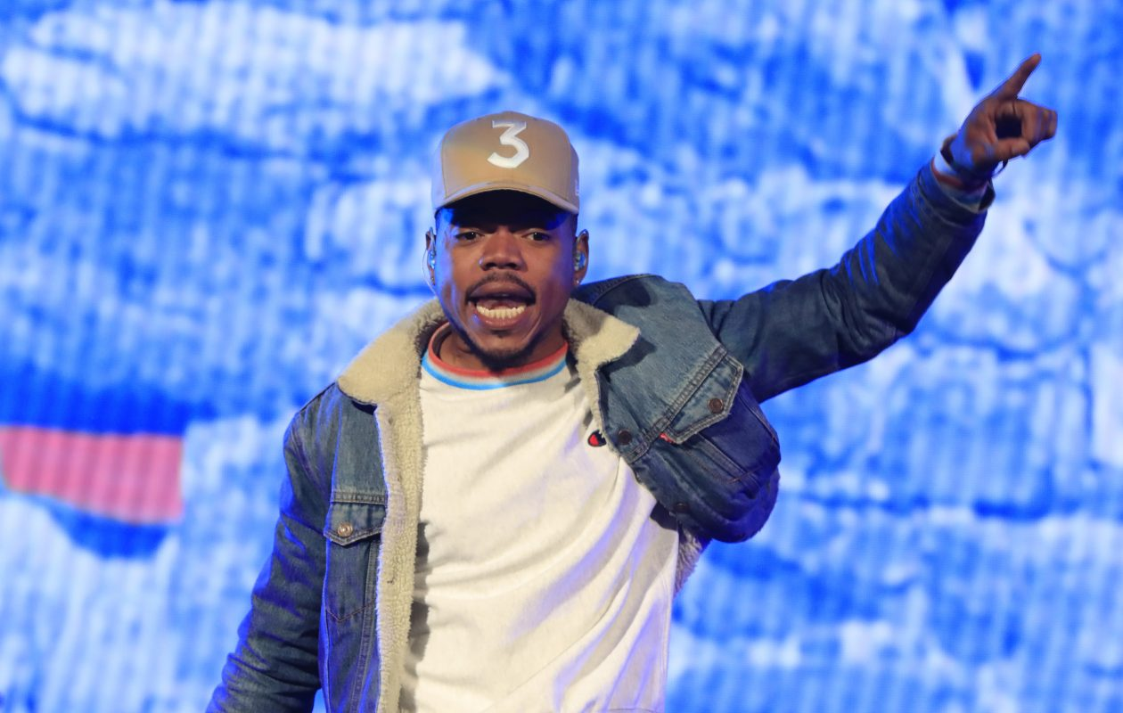 Chance the Rapper performs at Darien Lake Performing Arts Center on Wednesday, May 31, 2017. (Harry Scull Jr./Buffalo News)