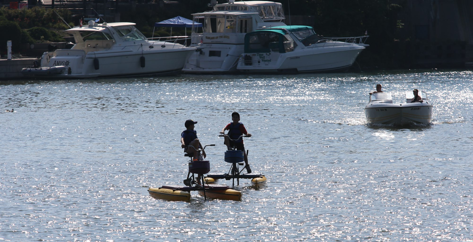 Gateway Harbor during Canalfest on July 17, 2013.   (Buffalo News file photo)