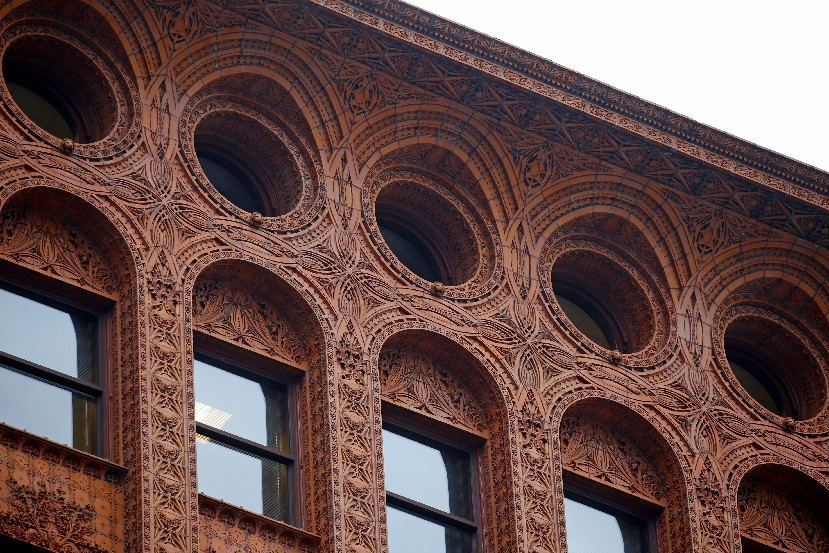Historic tax credits have been used to renovate many buildings in Buffalo, including the Guaranty Building. (Robert Kirkham/Buffalo News)