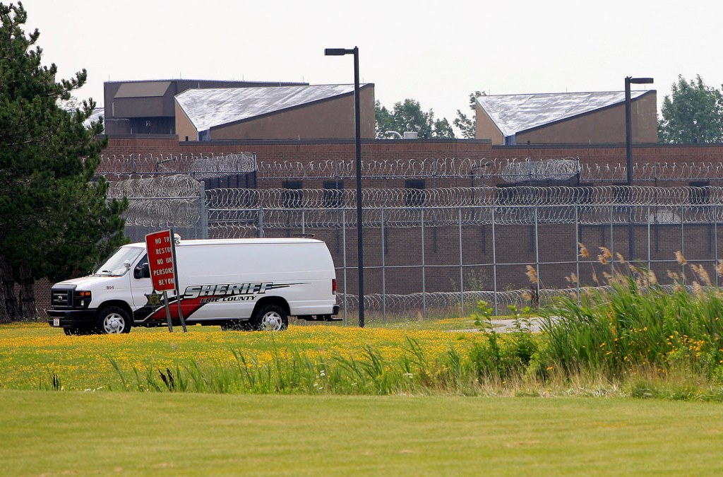 """Under the leadership of Erie County Sheriff Timothy B. Howard, Erie County jails have misreported suicide attempts as """"disturbances,"""" avoiding the need to report the events to the state Commission of Correction. (Harry Scull Jr./Buffalo News)"""