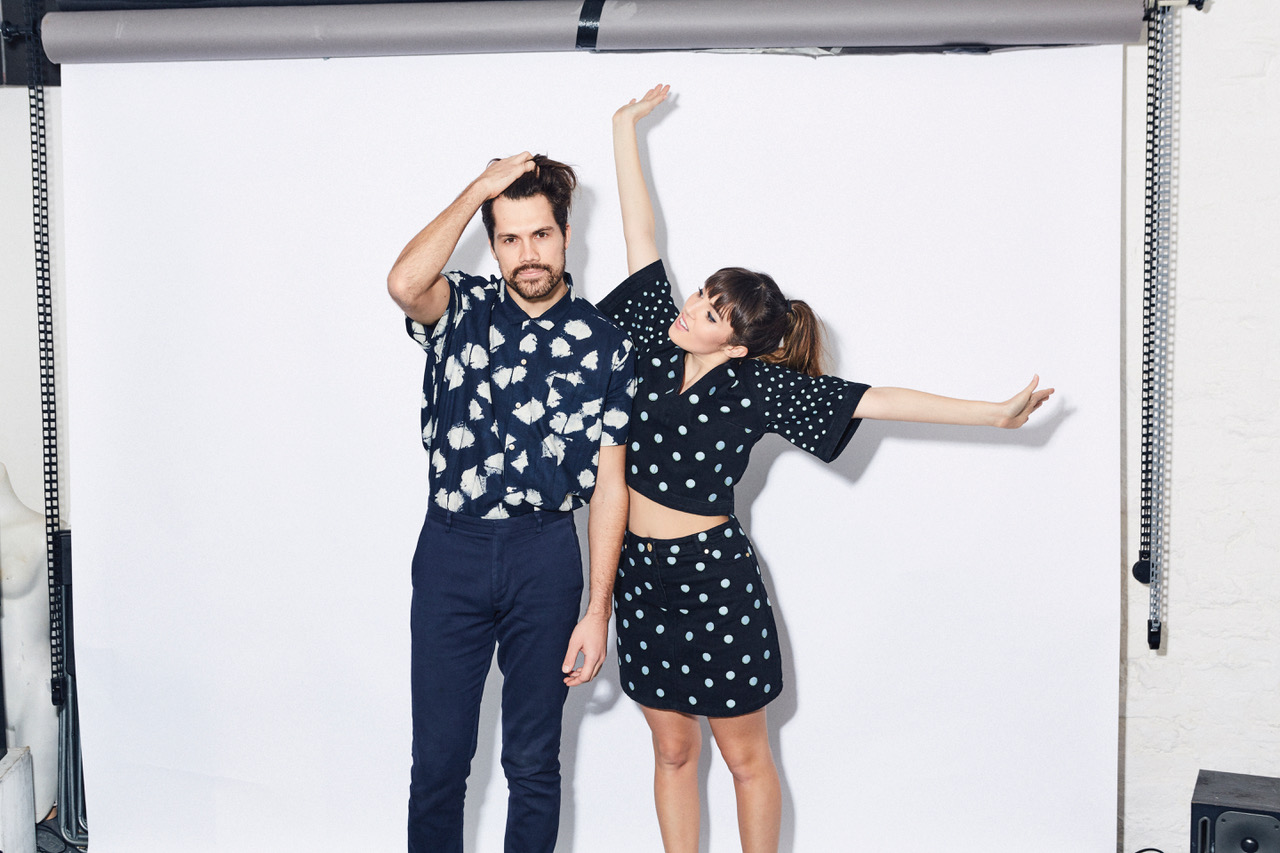 The duo Oh Wonder will perform at the Town Ballroom. (Red Light Management)