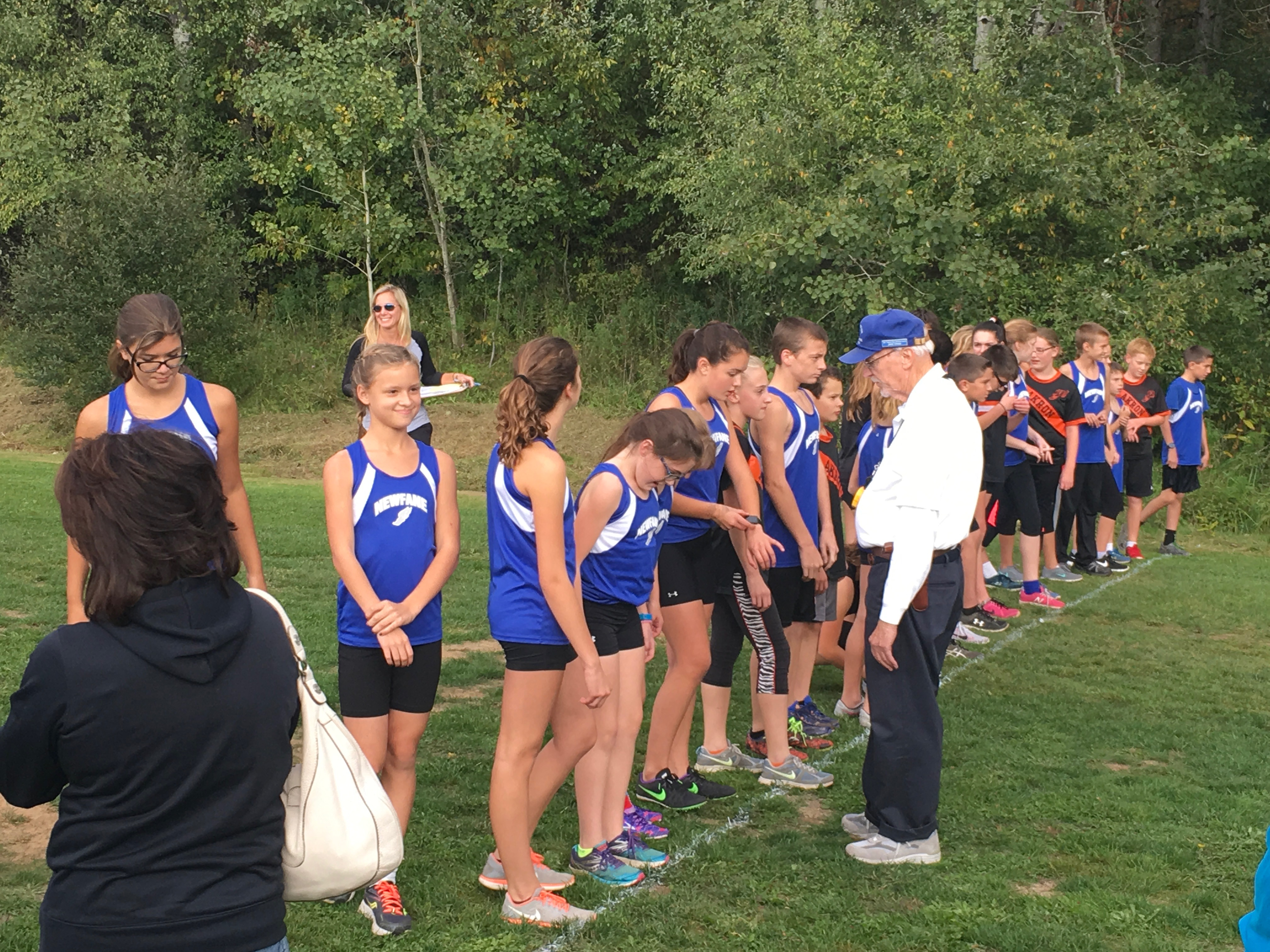 Cross country was one of the modified sports reintroduced by Newfane this year. (Photo provided by Newfane Central School District)