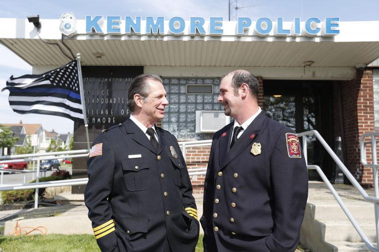 In Kenmore, the village chiefs are father and son