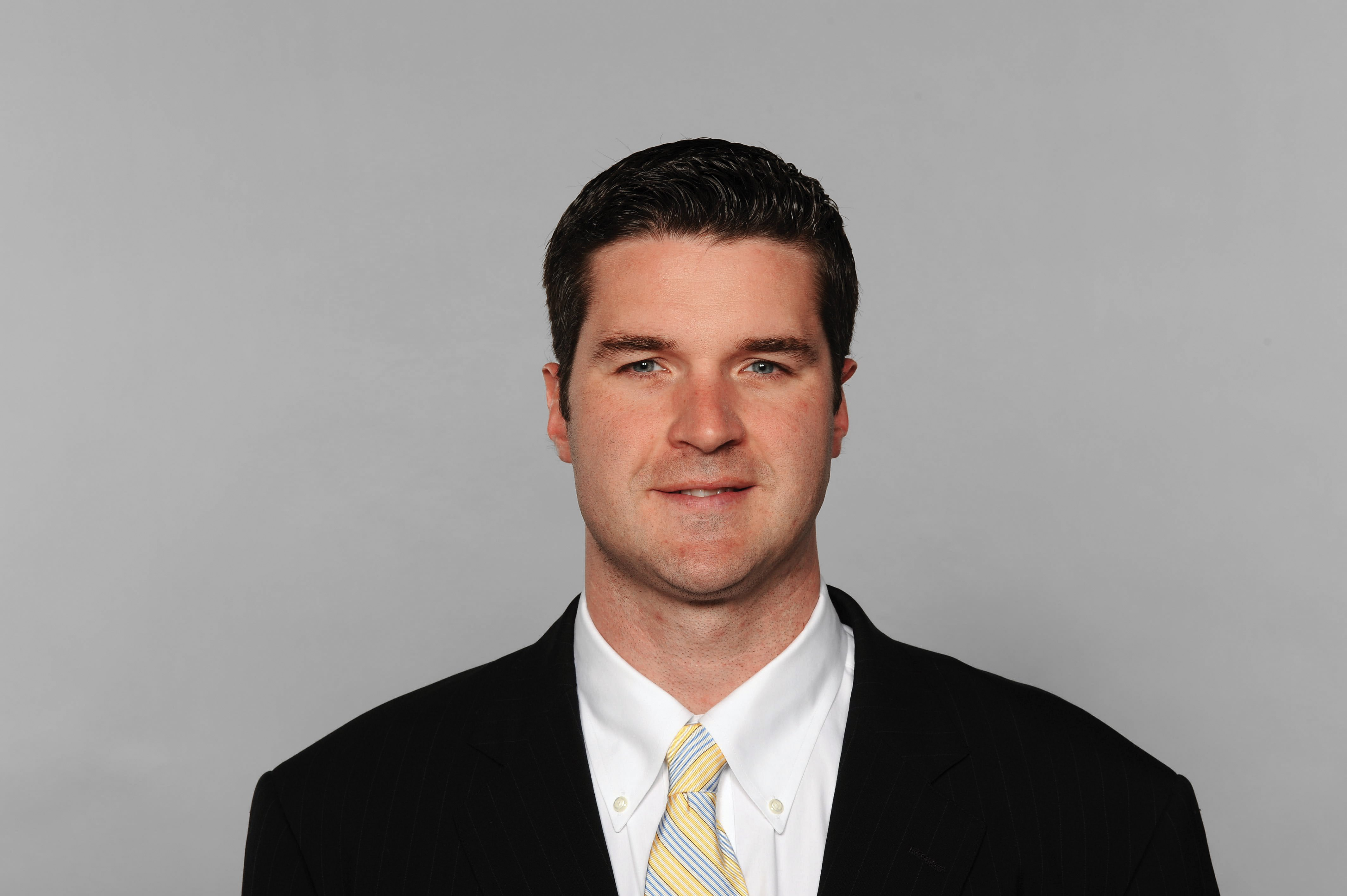 The Bills made it official Friday that they interviewed Brian Gaine for their GM opening.  (Photo by Getty Images)
