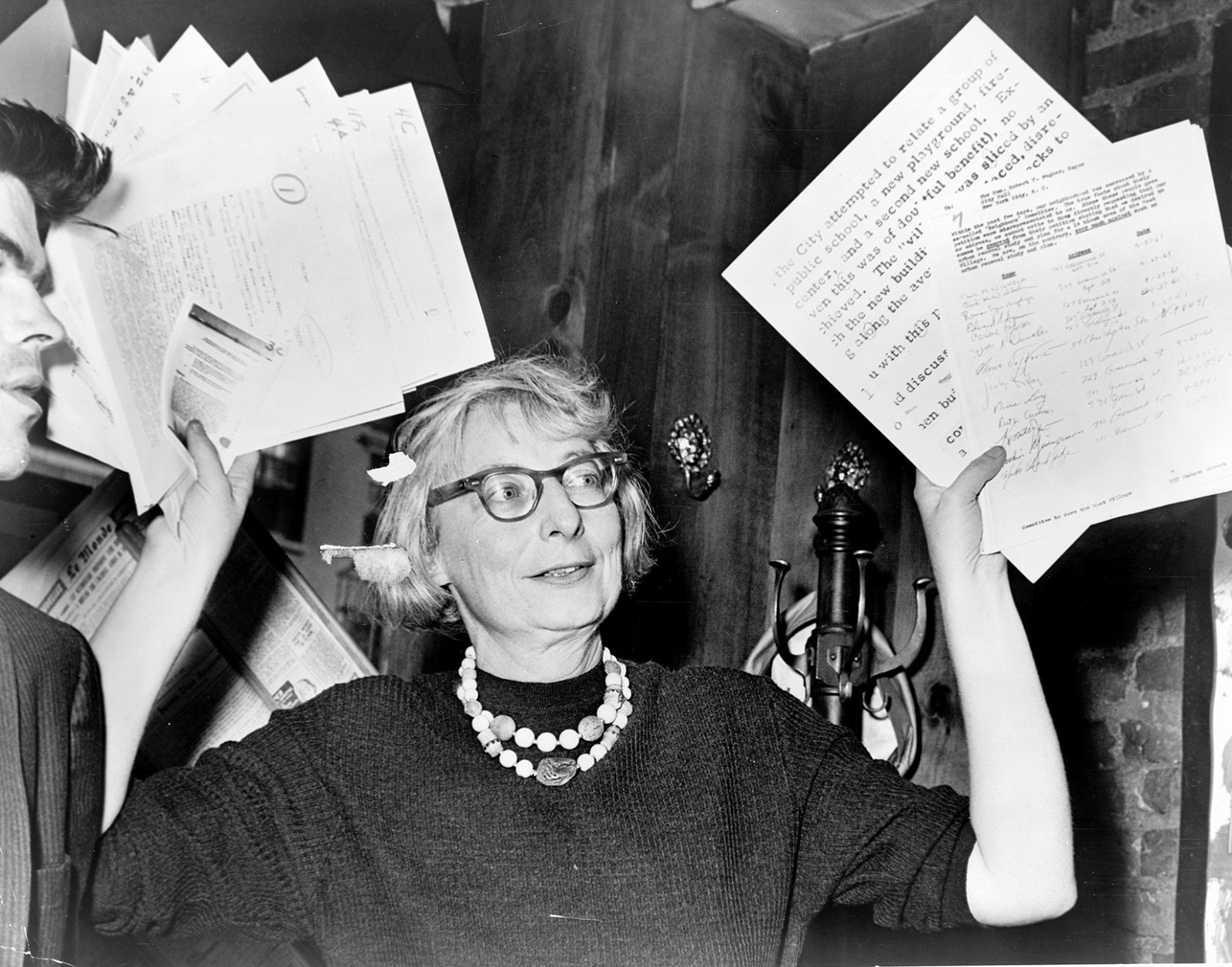 Jane Jacobs in a scene from Matt Tyrnauer's 'Citizen Jane: Battle for the City.' (IFC Films-Sundance Selects)