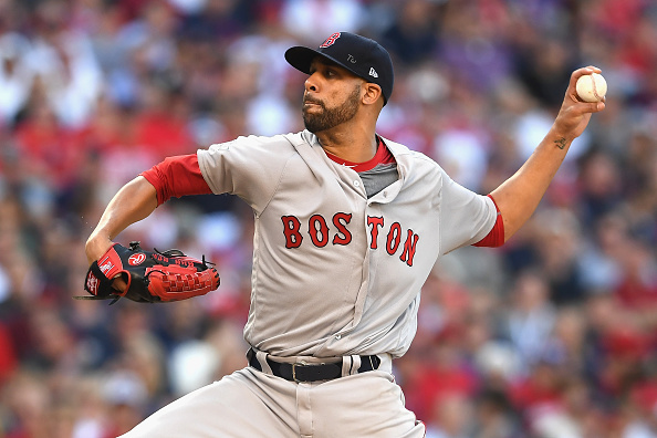 David Price went 17-9 with a 3.99 ERA in 2016, his first season with the Red Sox (Getty Images).